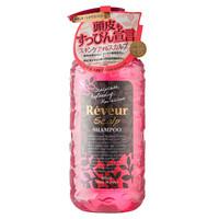 Reveur 无硅油洗发水500ml 头皮养护型 粉色 日本进口