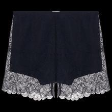 爱美丽 蕾丝打底 蕾丝安全裤 黑色400 XL