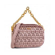 Furla 芙拉 女士粉红色织物手提单肩包链条包 993081